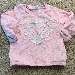 Baby girls 6-9month HM sweatshirt